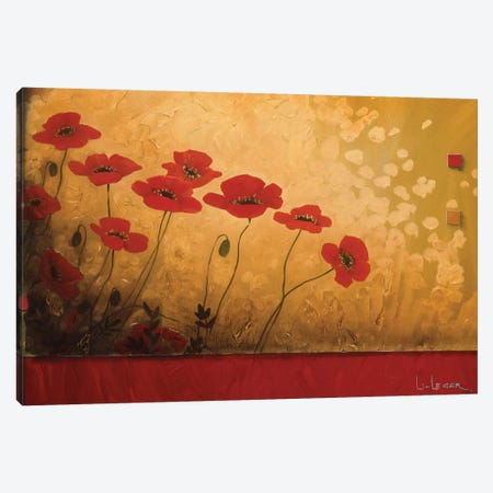 Walking In Eden Canvas Print #DLL118} by Don Li-Leger Canvas Artwork