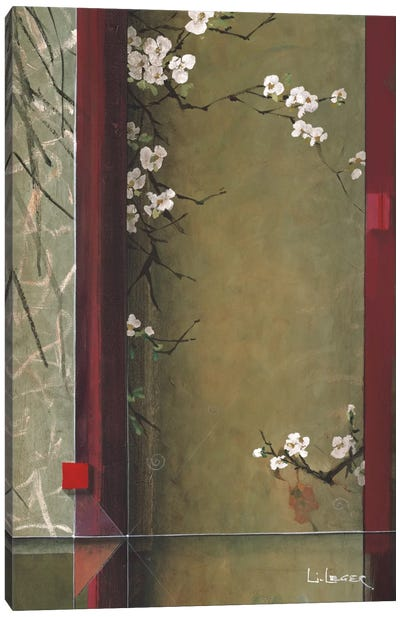 Blossom Tapestry I Canvas Art Print