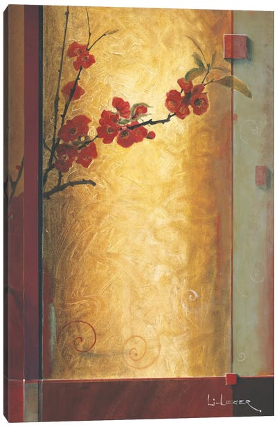 Blossom Tapestry II Canvas Art Print
