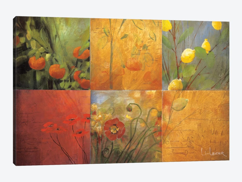 Citrus Garden by Don Li-Leger 1-piece Canvas Print