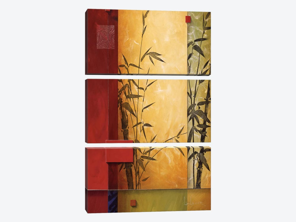 Garden Dance I by Don Li-Leger 3-piece Canvas Wall Art