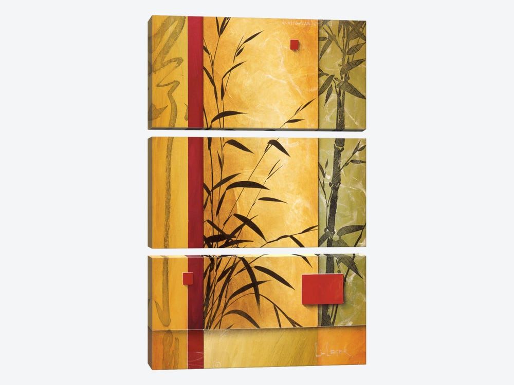Garden Dance II 3-piece Canvas Art Print
