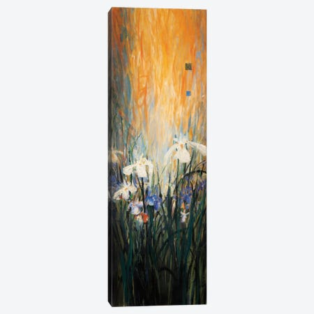 Golden Winged Garden I Canvas Print #DLL35} by Don Li-Leger Canvas Print