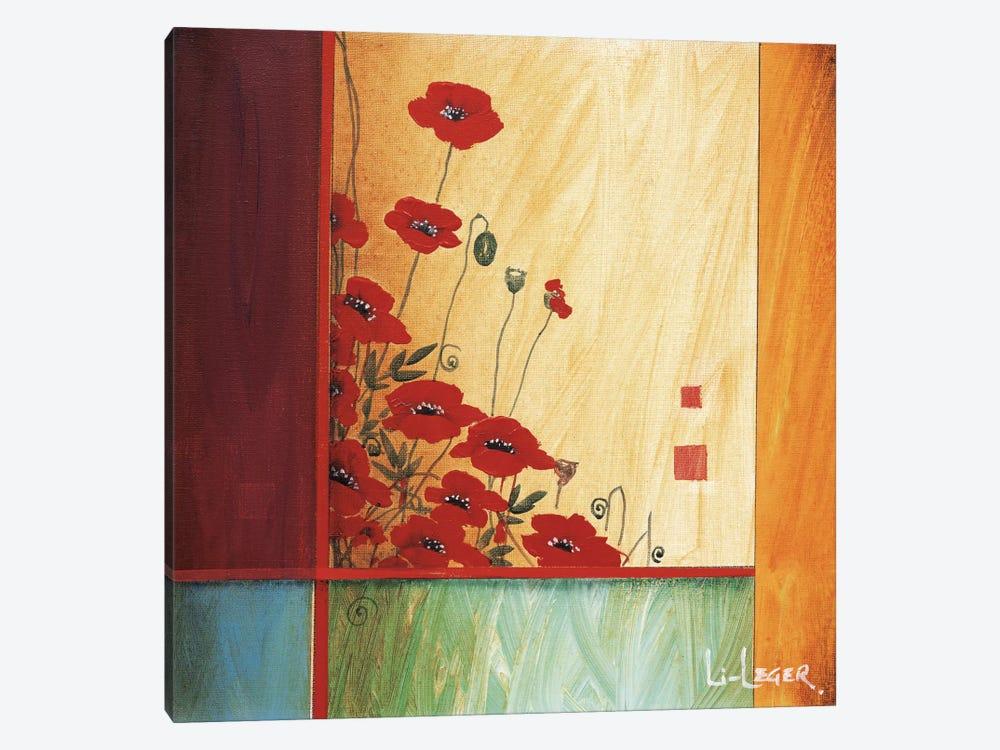 Along The Garden Wall by Don Li-Leger 1-piece Canvas Wall Art