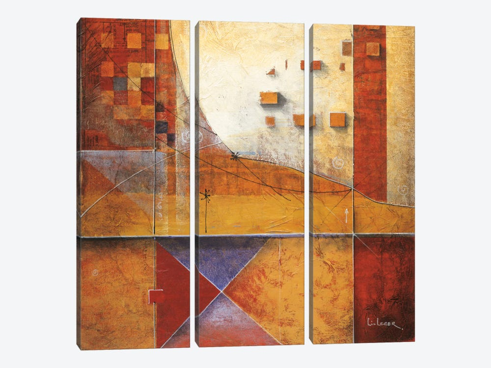 Intersection by Don Li-Leger 3-piece Canvas Artwork