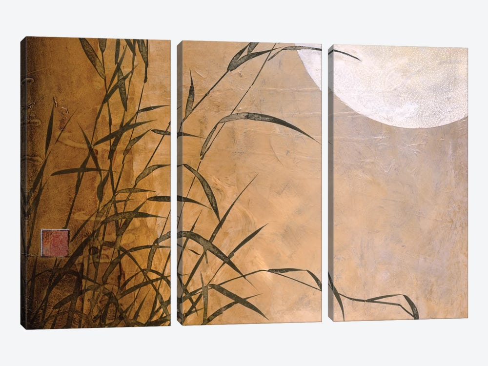 Lakeside Moonrise by Don Li-Leger 3-piece Canvas Art