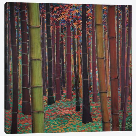 Magical Forest Canvas Print #DLL56} by Don Li-Leger Art Print