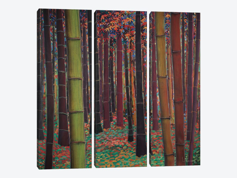 Magical Forest by Don Li-Leger 3-piece Canvas Print