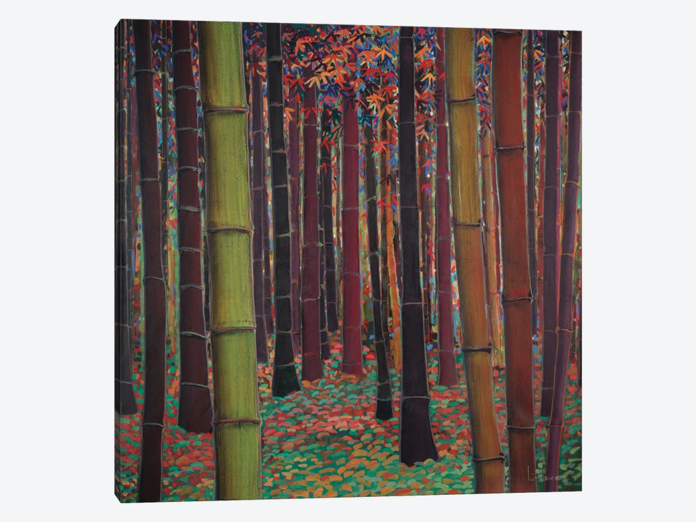 Magical Forest 1-piece Canvas Print