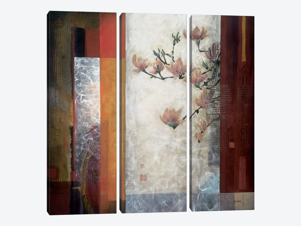 Manhattan Garden by Don Li-Leger 3-piece Canvas Wall Art