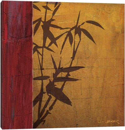 Modern Bamboo I Canvas Art Print