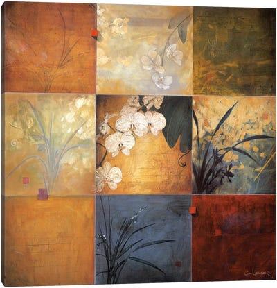 Orchid Nine Patch Canvas Art Print