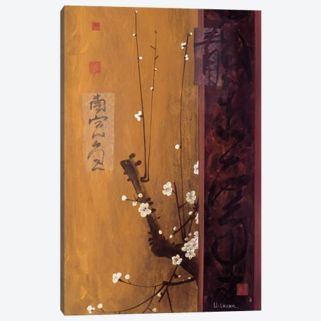 Oriental Blossoms I Canvas Print #DLL71} by Don Li-Leger Canvas Art