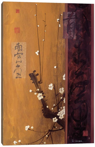 Oriental Blossoms I Canvas Art Print