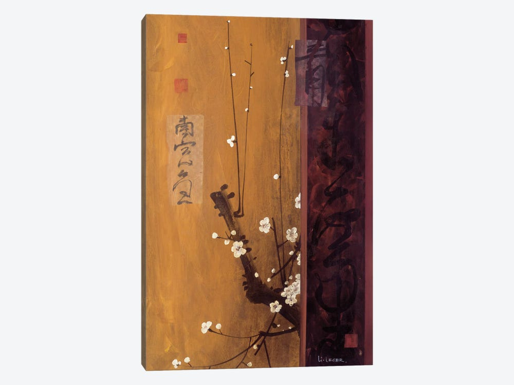 Oriental Blossoms I 1-piece Canvas Art