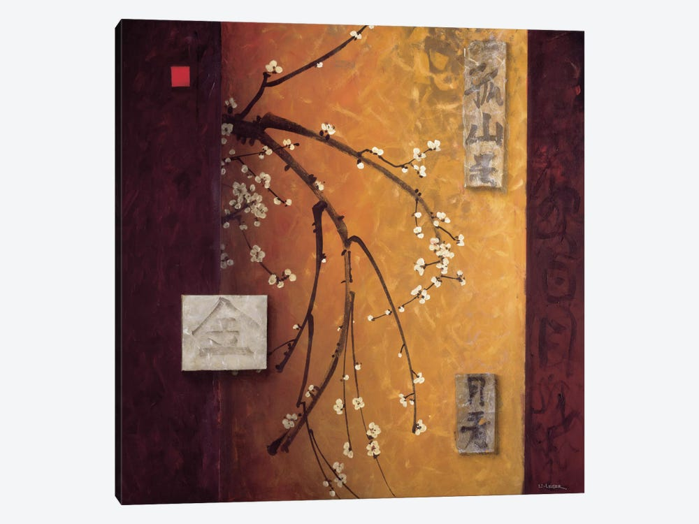 Oriental Blossoms II by Don Li-Leger 1-piece Canvas Art Print