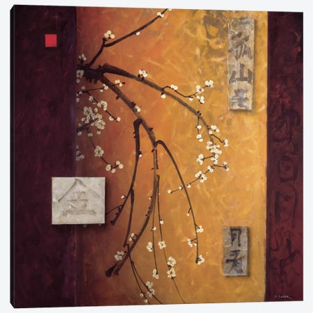 Oriental Blossoms II Canvas Print #DLL72} by Don Li-Leger Canvas Art
