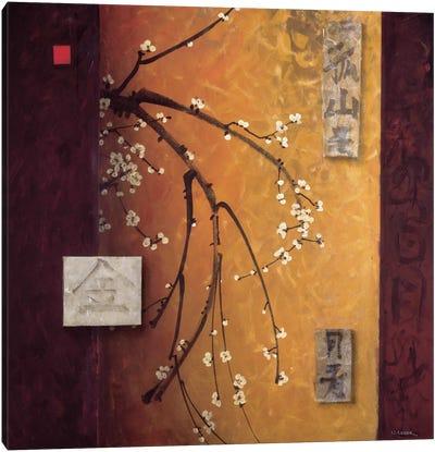 Oriental Blossoms II Canvas Art Print