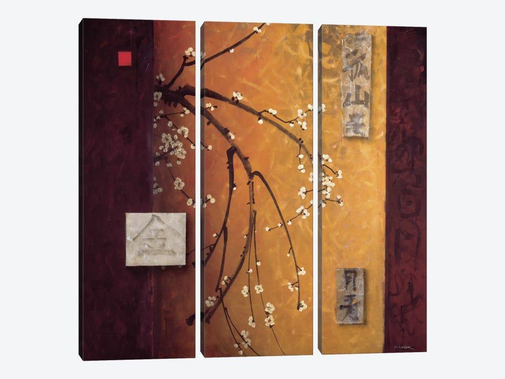 Oriental Blossoms II by Don Li-Leger 3-piece Art Print
