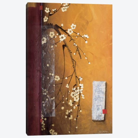 Oriental Blossoms III Canvas Print #DLL73} by Don Li-Leger Canvas Art