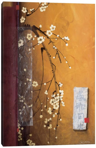 Oriental Blossoms III Canvas Art Print