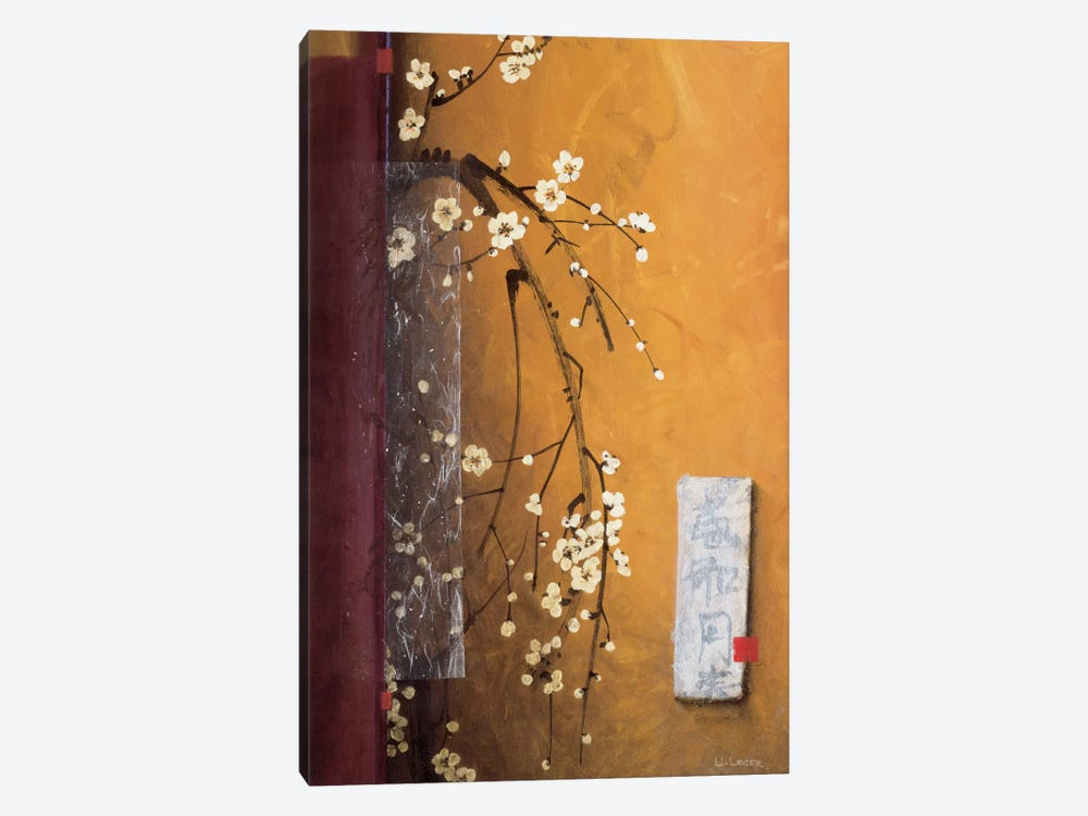 Oriental Blossoms III by Don Li-Leger 1-piece Canvas Wall Art