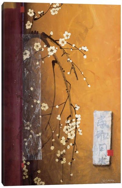 Oriental Blossoms III Canvas Art Print