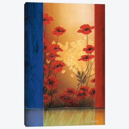 Painter's Garden II Canvas Print #DLL77} by Don Li-Leger Canvas Print
