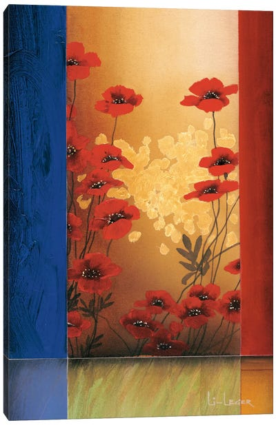 Painter's Garden II Canvas Art Print