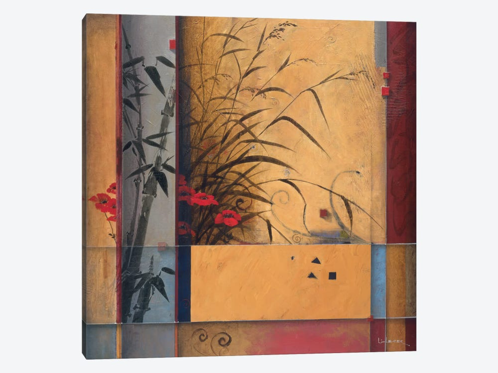 Bamboo Division by Don Li-Leger 1-piece Canvas Art