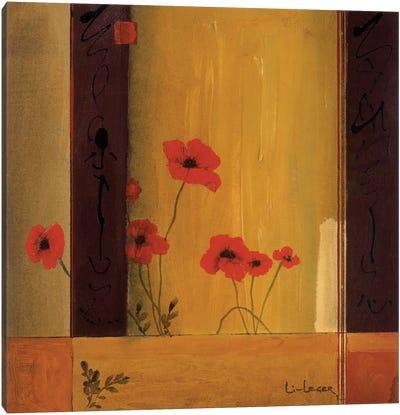 Poppy Tile II Canvas Print #DLL89