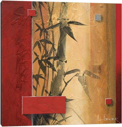 Bamboo Garden Canvas Art Print