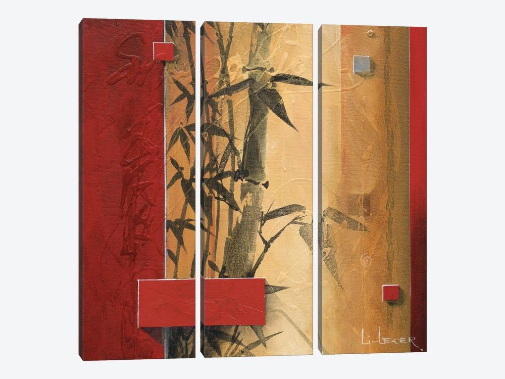 Bamboo Garden by Don Li-Leger 3-piece Art Print