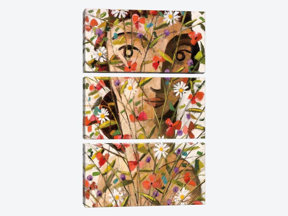 Bouquet by Didier Lourenco 3-piece Canvas Art