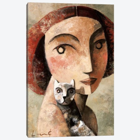 Mirame Canvas Print #DLO5} by Didier Lourenco Canvas Art