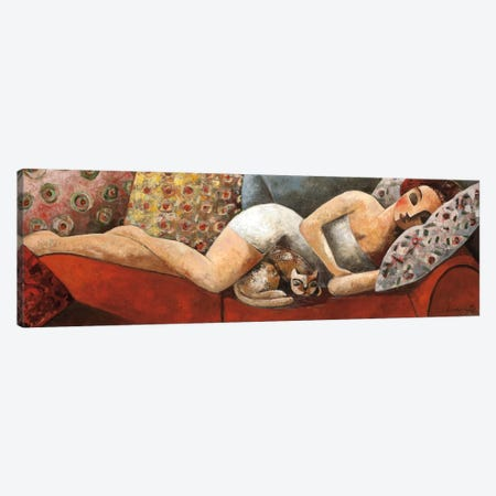 Siesta Canvas Print #DLO6} by Didier Lourenco Canvas Wall Art