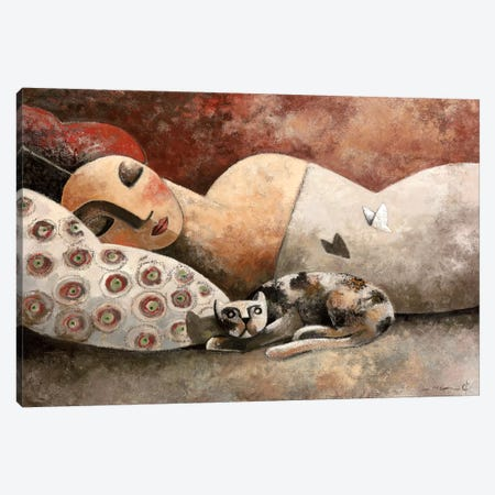 The Invader Canvas Print #DLO8} by Didier Lourenco Canvas Art Print