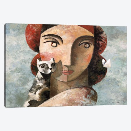 The Visit Canvas Print #DLO9} by Didier Lourenco Canvas Print