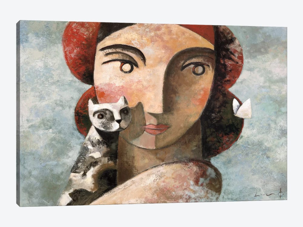 The Visit by Didier Lourenco 1-piece Canvas Print