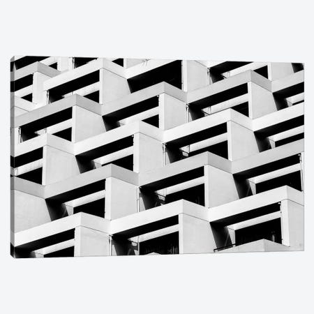 Pattern Windows V Canvas Print #DLX102} by Danilo de Alexandria Art Print