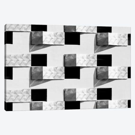 Pattern Windows VI Canvas Print #DLX103} by Danilo de Alexandria Art Print