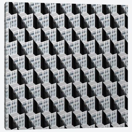 Pattern Windows VII Canvas Print #DLX104} by Danilo de Alexandria Canvas Art