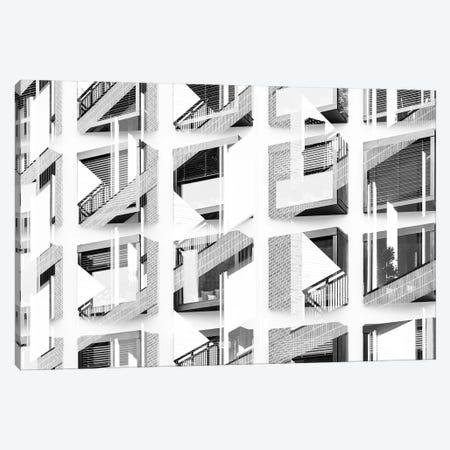 Pattern Windows XIX Canvas Print #DLX111} by Danilo de Alexandria Canvas Wall Art