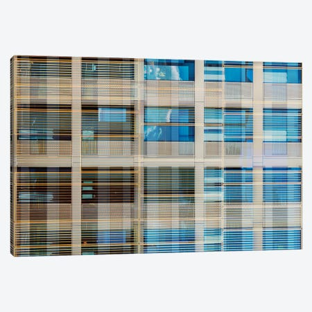 Pattern Windows XX Canvas Print #DLX115} by Danilo de Alexandria Art Print