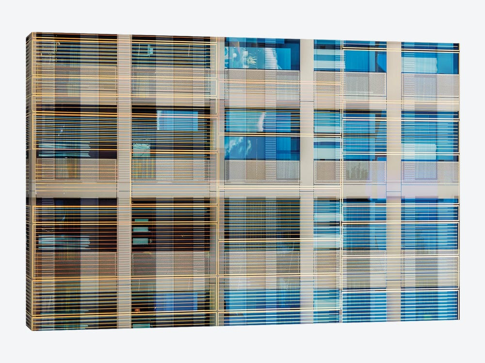 Pattern Windows XX by Danilo de Alexandria 1-piece Canvas Art Print