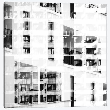 Pattern Windows XXV Canvas Print #DLX121} by Danilo de Alexandria Canvas Art Print