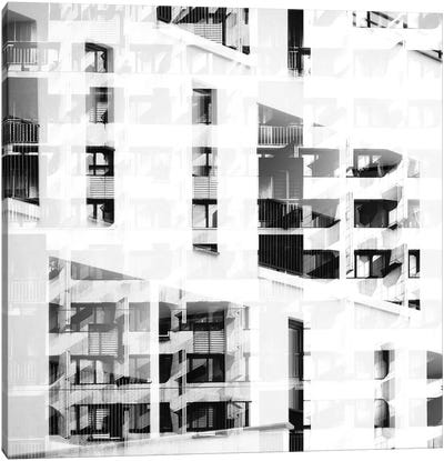 Pattern Windows XXV Canvas Art Print