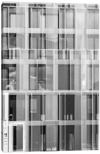 Pattern Windows XXXI Canvas Art Print
