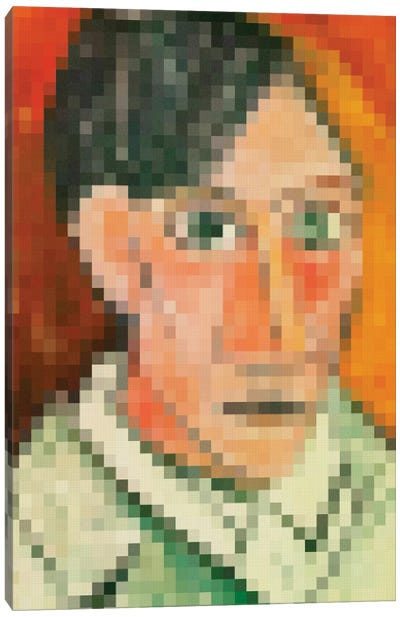 Pixel Picasso Canvas Art Print