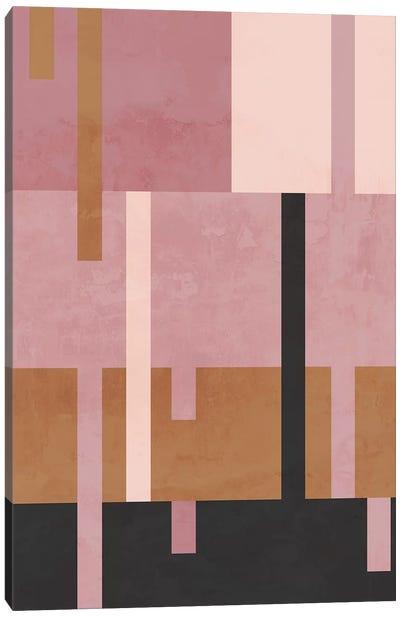 Rose Diptych I Canvas Art Print